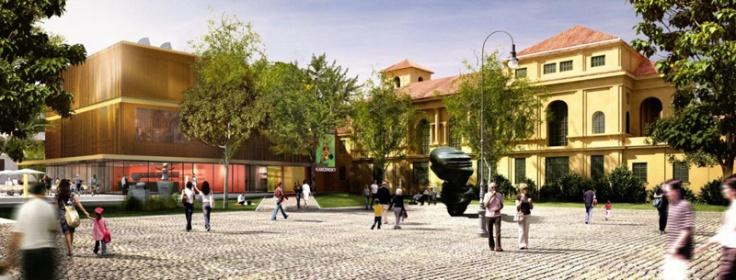 Der Neubau des Neuen Lenbachhauses von Foster & Partner