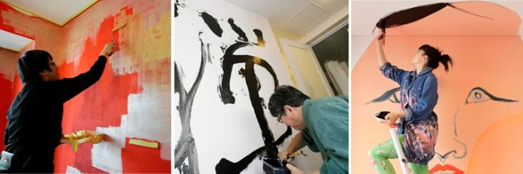 ARTISTES AU TRAVAIL