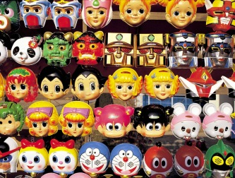 masques-pour-enfants-au-festival-dete-tokyo-japon-awy4wy