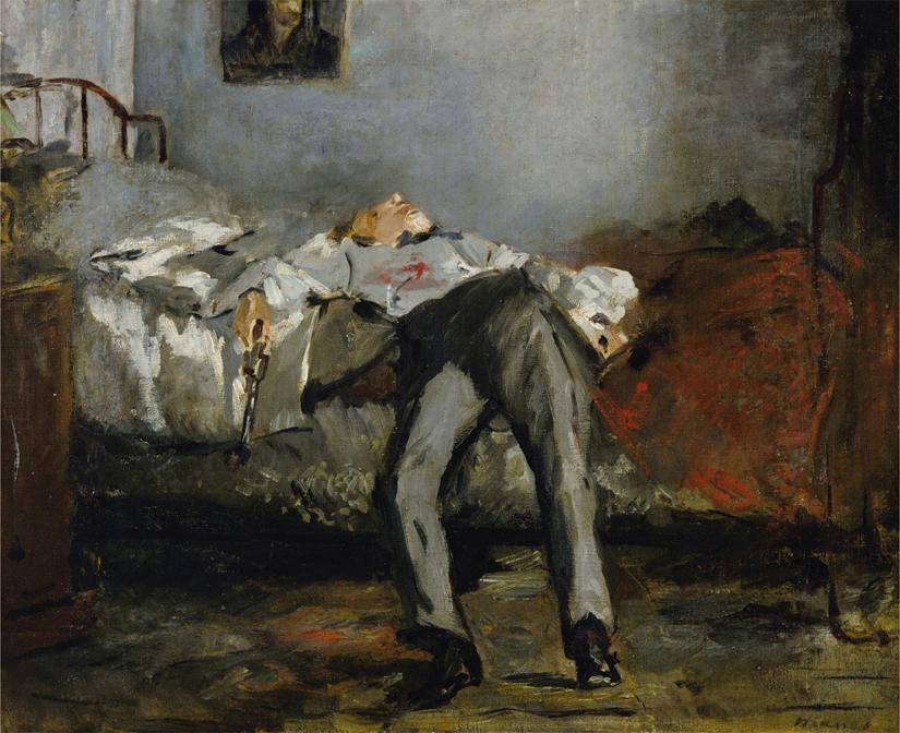 Suicide, 1881 (oil on canvas)